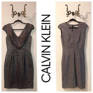 2 Calvin Klein Sheath Dresses P4